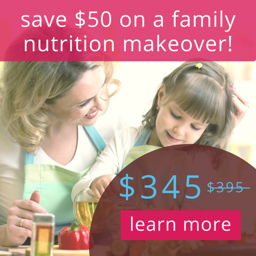 CTA - family nutrition discount
