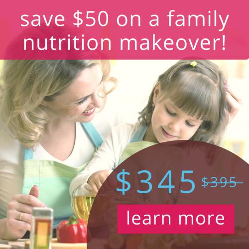 CTA - family nutrition discount