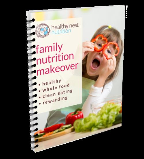 Family Nutrition Makeover Program Guide Cover
