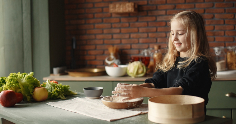 Cook Whole Yummy Foods With Your Kids